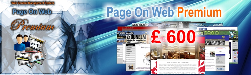 Page On Web Web Design Company With Content Management Solutions Based In Whitstable Kent